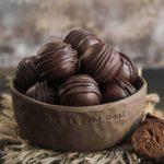 Buckwheat Chocolate Hazelnut Bliss Balls