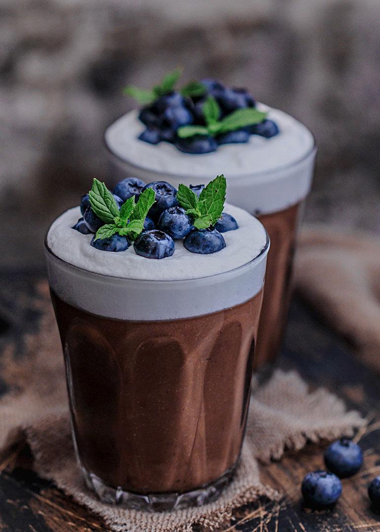 Čokoladni puding od heljde